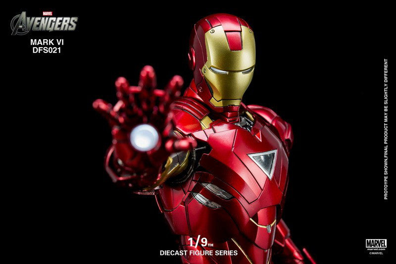 King Arts - 1/9 Diecast Iron Man Mark VI - Marvelous Toys - 3
