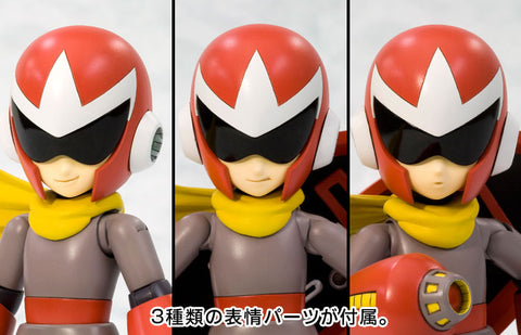 Kotobukiya - Rockman (Mega Man) - Proto Man (Blues/Bruce) Model Kit (1/10 Scale) (Repackaged Ver.)