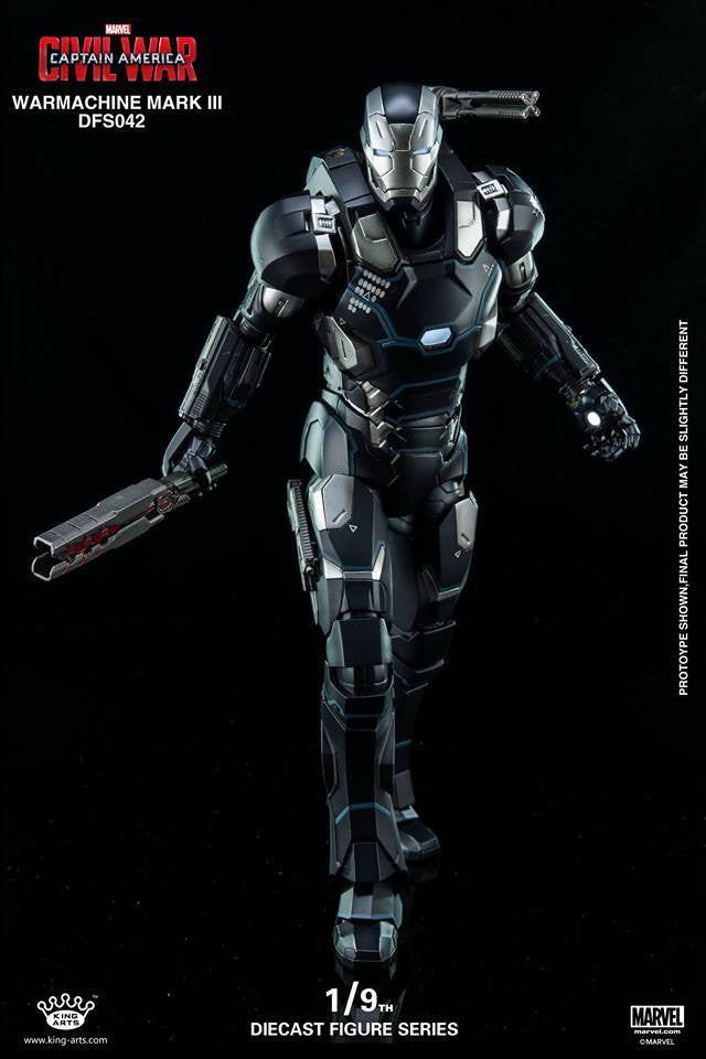 King Arts - DFS042 - Captain America: Civil War - War Machine Mark III - Marvelous Toys - 1