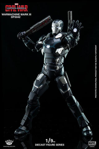 King Arts - DFS042 - Captain America: Civil War - War Machine Mark III - Marvelous Toys - 2