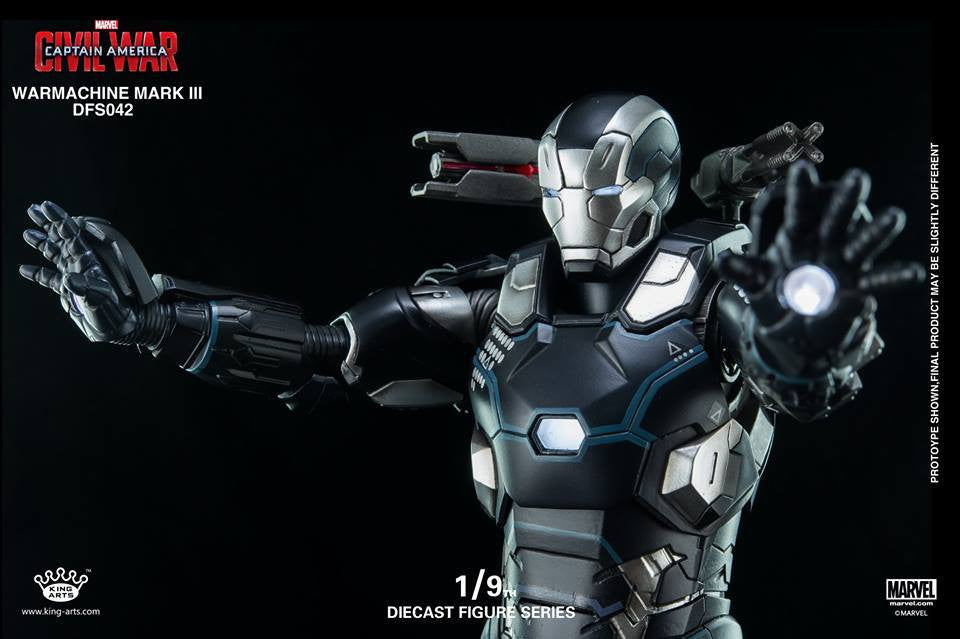 King Arts - DFS042 - Captain America: Civil War - War Machine Mark III - Marvelous Toys - 3