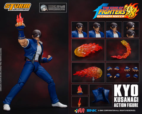 Storm Collectibles - The King of Fighters '98 Ultimate Match - Kyo Kusanagi (Wonder Festival 2019 Exclusive)