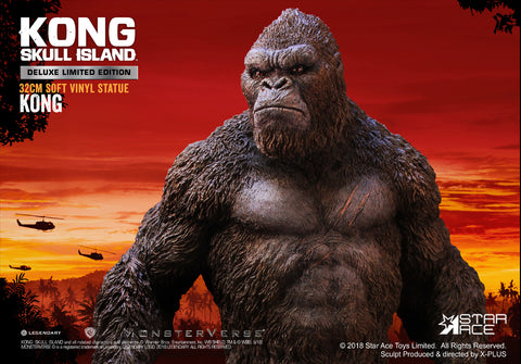 Star Ace Toys - Kong: Skull Island - Kong Soft Vinyl Statue (Deluxe Limited Edition)
