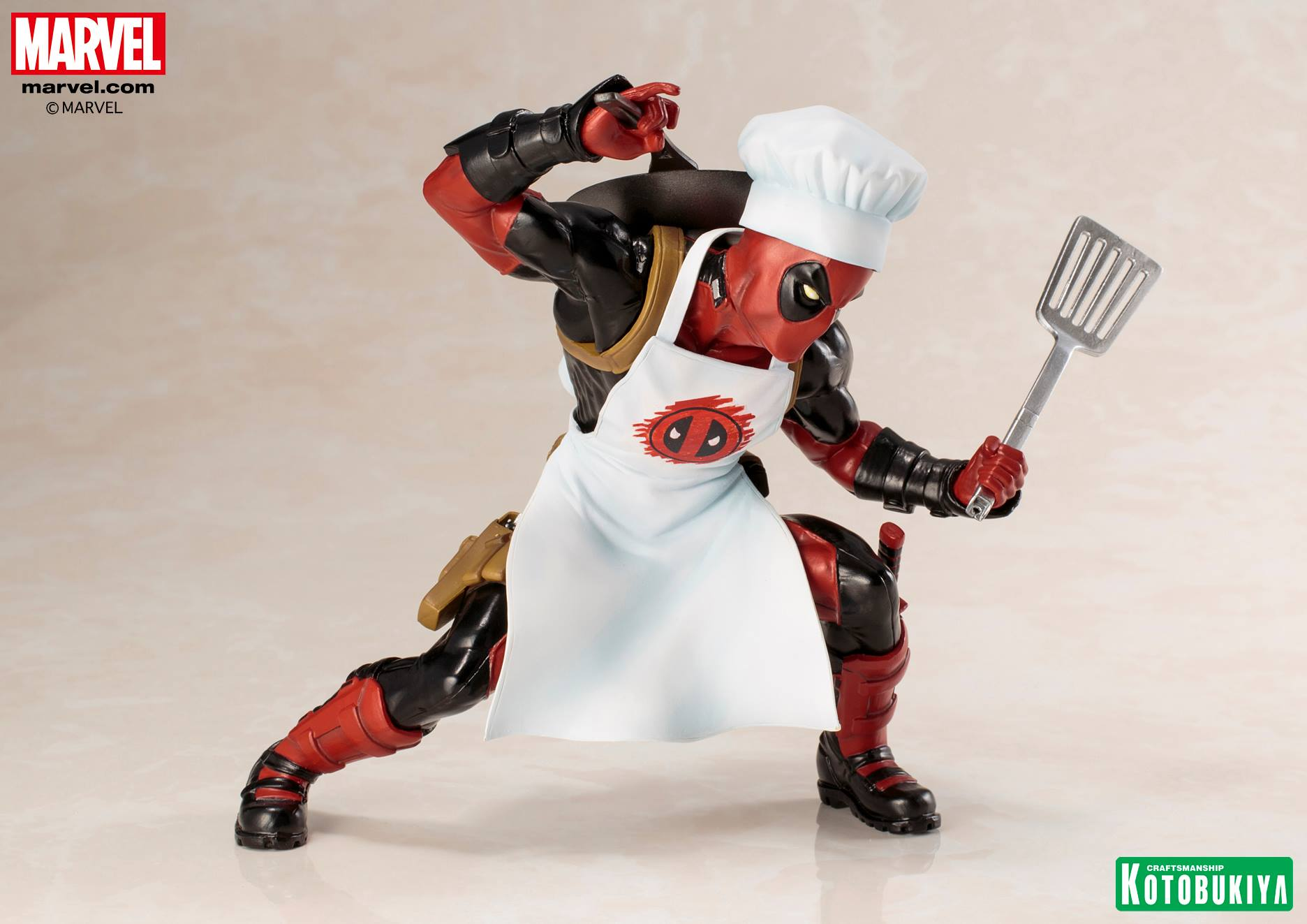Kotobukiya - ARTFX+ - Marvel Universe - Chef Deadpool (Cook)