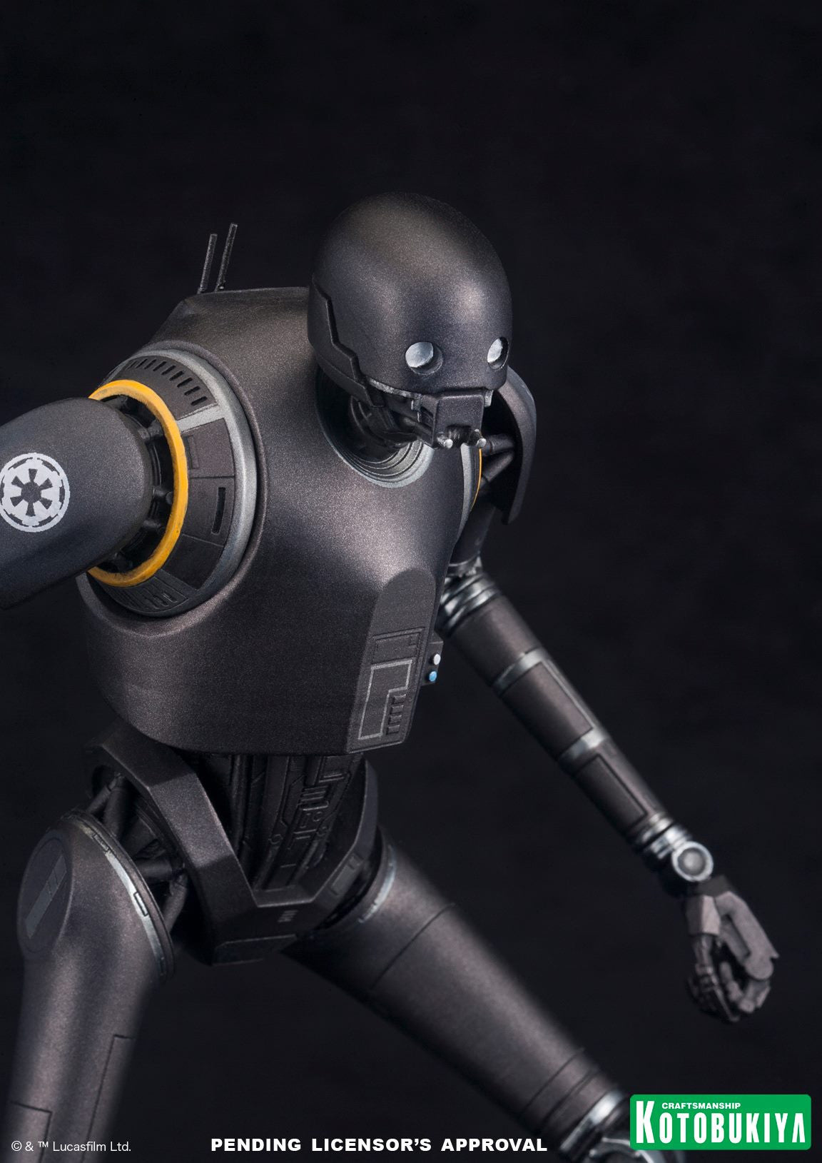 Kotobukiya - ARTFX+ - Rogue One: A Star Wars Story - K-2SO (1/10 scale) - Marvelous Toys - 6