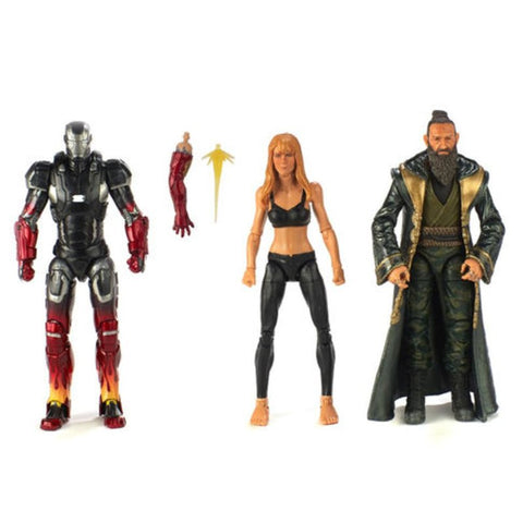 Hasbro - Marvel Legends - Marvel Studios: The First Ten Years - Pepper Potts, Iron Man Mark XXII and The Mandarin