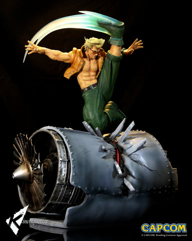 Kinetiquettes - Street Fighter - War Heroes - Charlie Nash (1/6 Scale Diorama)
