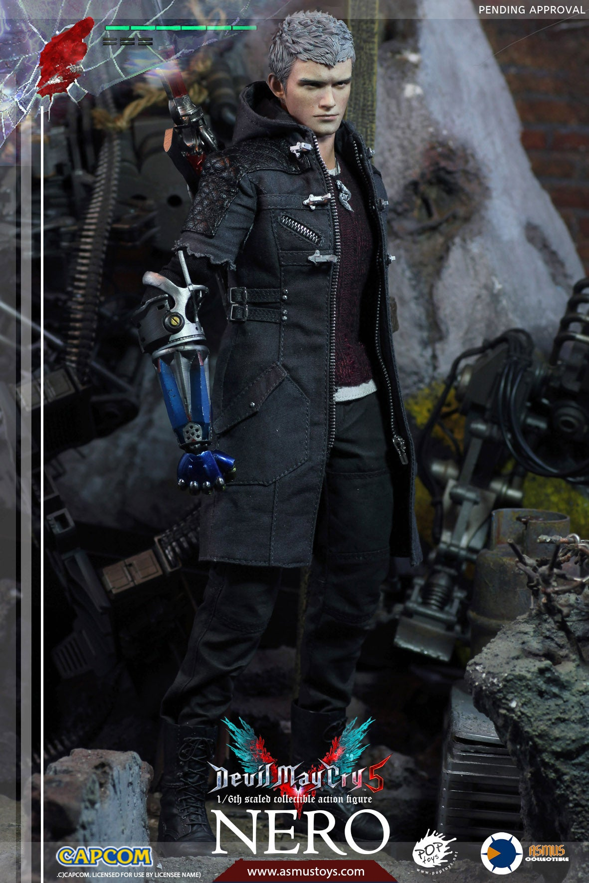 Asmus Toys - Devil May Cry 5 - Nero (1/6 Scale)