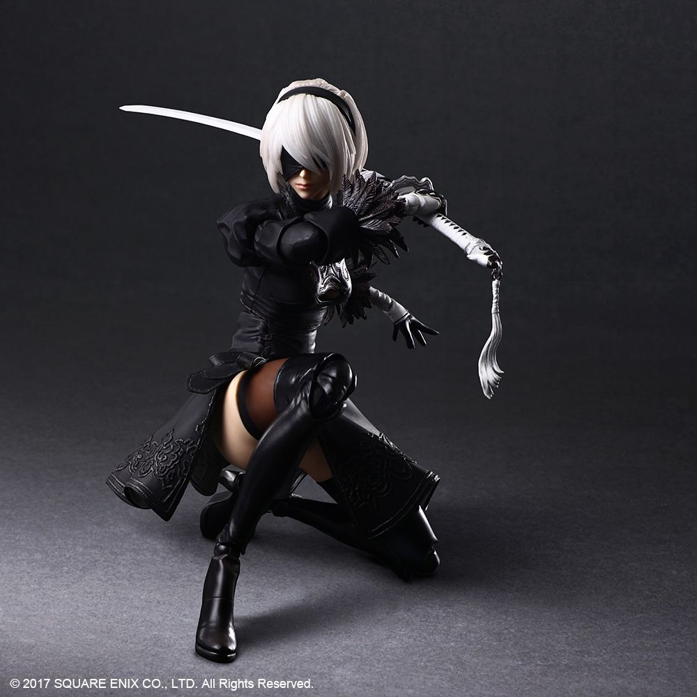 Square Enix - Play Arts Kai - NieR:Automata - 2B (YoRHa No. 2 Type B)