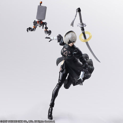 Bring Arts - NieR: Automata - 2B & Machine Lifeform Set
