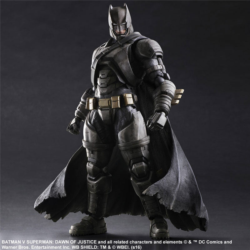 (IN STOCK) Play Arts Kai - Batman v Superman: Dawn of Justice - Armored Batman - Marvelous Toys - 1