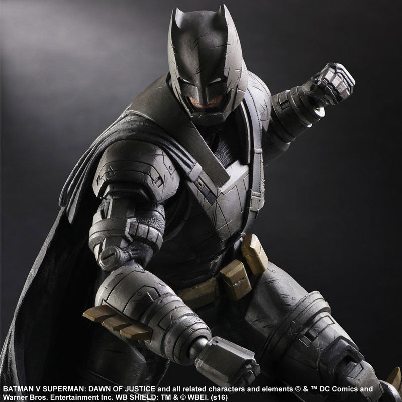 (IN STOCK) Play Arts Kai - Batman v Superman: Dawn of Justice - Armored Batman - Marvelous Toys - 2
