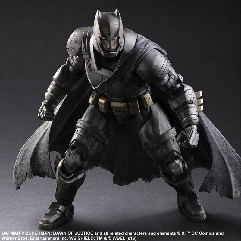 (IN STOCK) Play Arts Kai - Batman v Superman: Dawn of Justice - Armored Batman - Marvelous Toys - 3