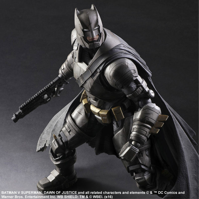 (IN STOCK) Play Arts Kai - Batman v Superman: Dawn of Justice - Armored Batman - Marvelous Toys - 4