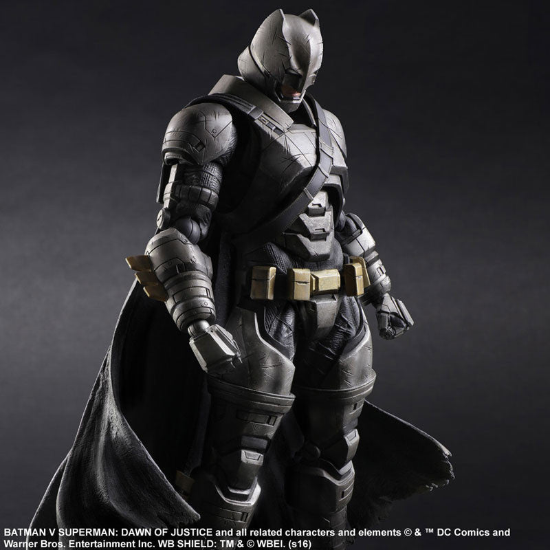 (IN STOCK) Play Arts Kai - Batman v Superman: Dawn of Justice - Armored Batman - Marvelous Toys - 5