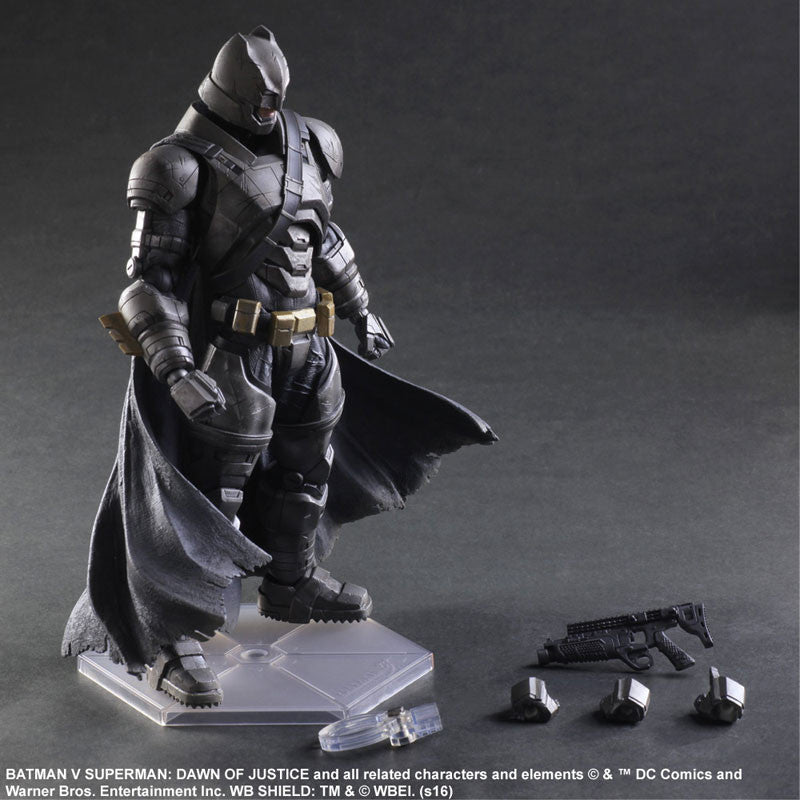 (IN STOCK) Play Arts Kai - Batman v Superman: Dawn of Justice - Armored Batman - Marvelous Toys - 8