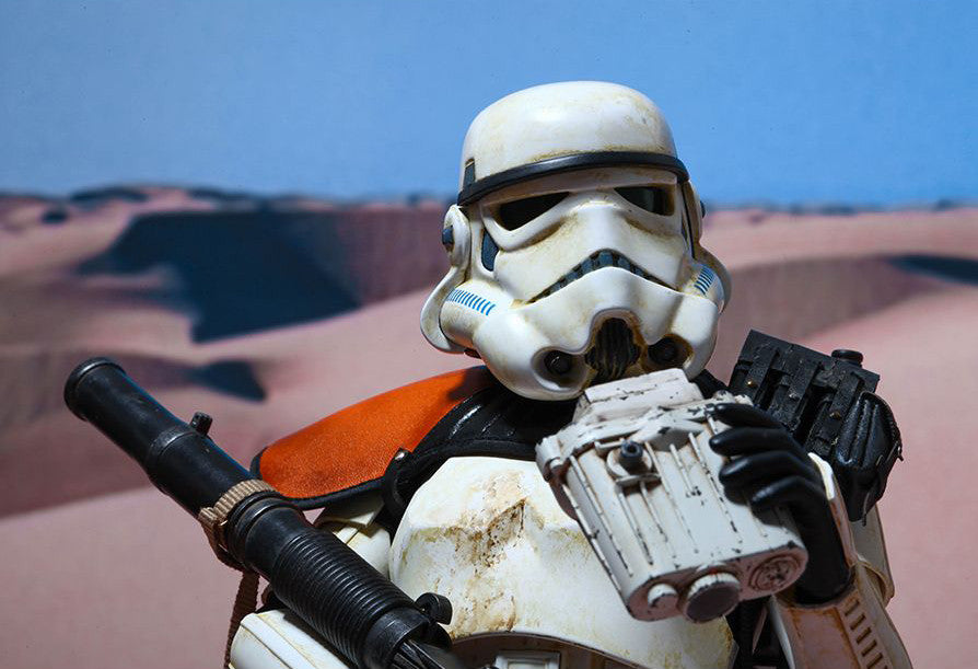 (IN STOCK) Hot Toys - MMS295 - Star Wars Episode IV A New Hope - Sandtrooper - Marvelous Toys - 2