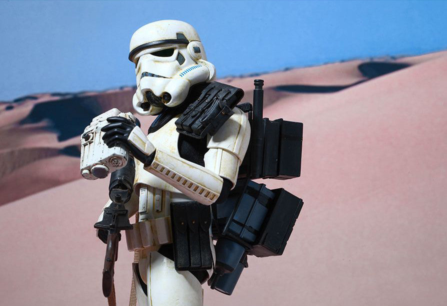 (IN STOCK) Hot Toys - MMS295 - Star Wars Episode IV A New Hope - Sandtrooper - Marvelous Toys - 3