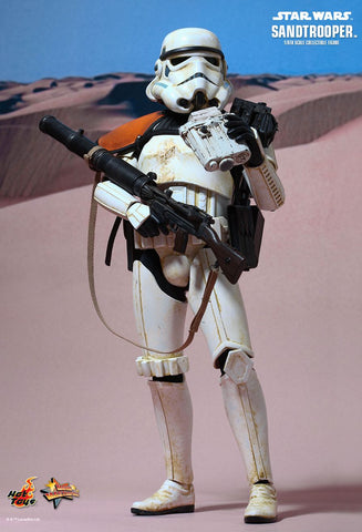 (IN STOCK) Hot Toys - MMS295 - Star Wars Episode IV A New Hope - Sandtrooper - Marvelous Toys - 1