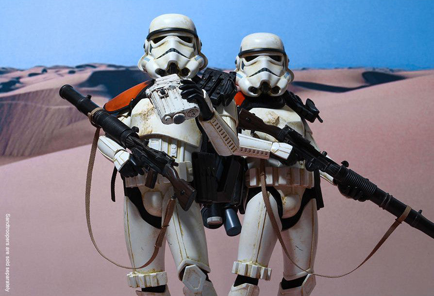 (IN STOCK) Hot Toys - MMS295 - Star Wars Episode IV A New Hope - Sandtrooper - Marvelous Toys - 4