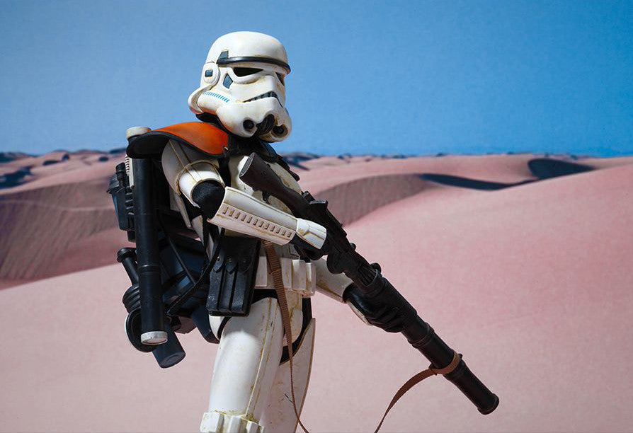 (IN STOCK) Hot Toys - MMS295 - Star Wars Episode IV A New Hope - Sandtrooper - Marvelous Toys - 14
