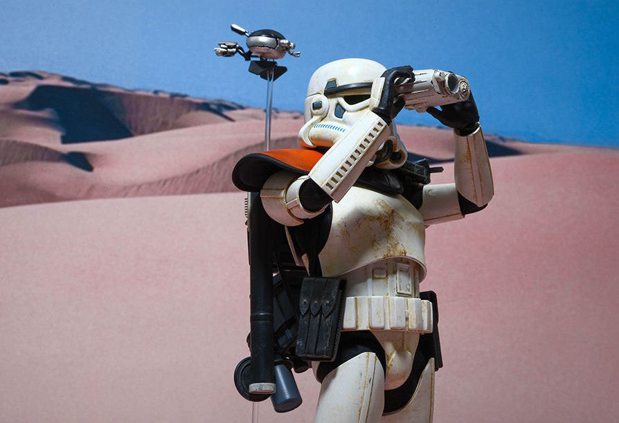 (IN STOCK) Hot Toys - MMS295 - Star Wars Episode IV A New Hope - Sandtrooper - Marvelous Toys - 5