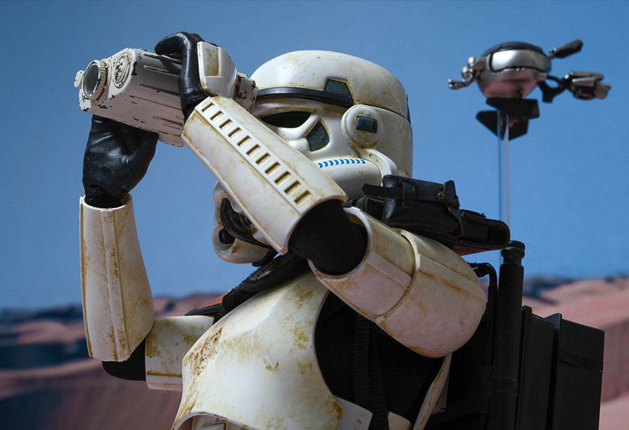 (IN STOCK) Hot Toys - MMS295 - Star Wars Episode IV A New Hope - Sandtrooper - Marvelous Toys - 6