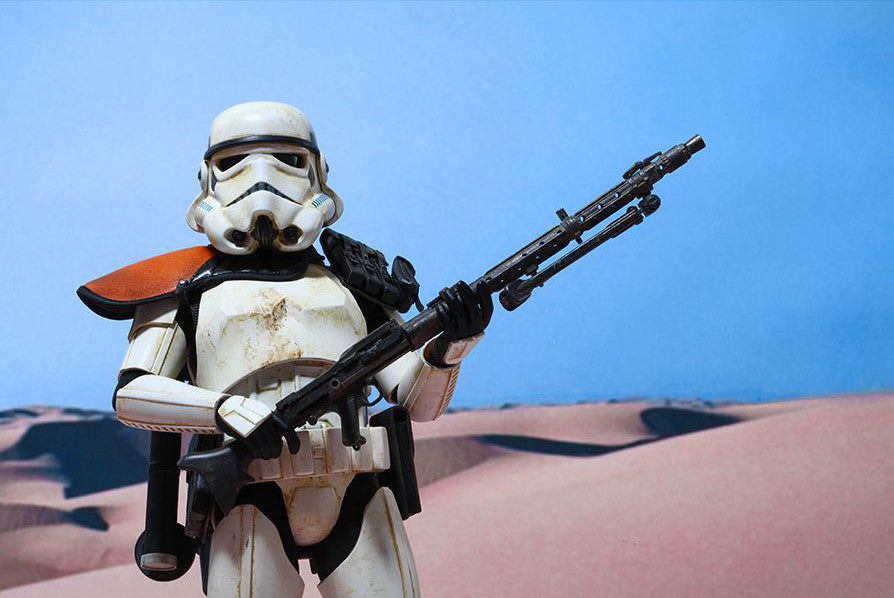 (IN STOCK) Hot Toys - MMS295 - Star Wars Episode IV A New Hope - Sandtrooper - Marvelous Toys - 16