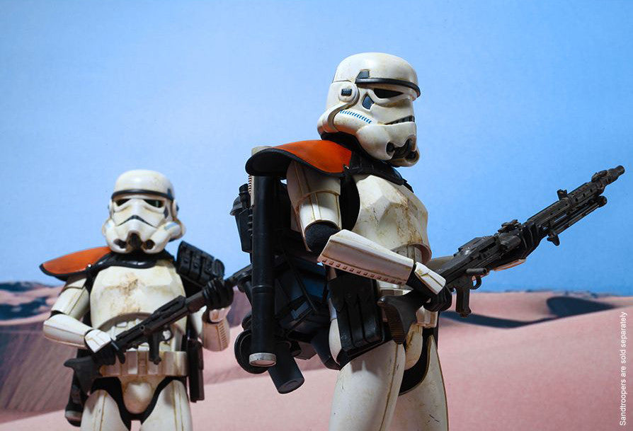 (IN STOCK) Hot Toys - MMS295 - Star Wars Episode IV A New Hope - Sandtrooper - Marvelous Toys - 9
