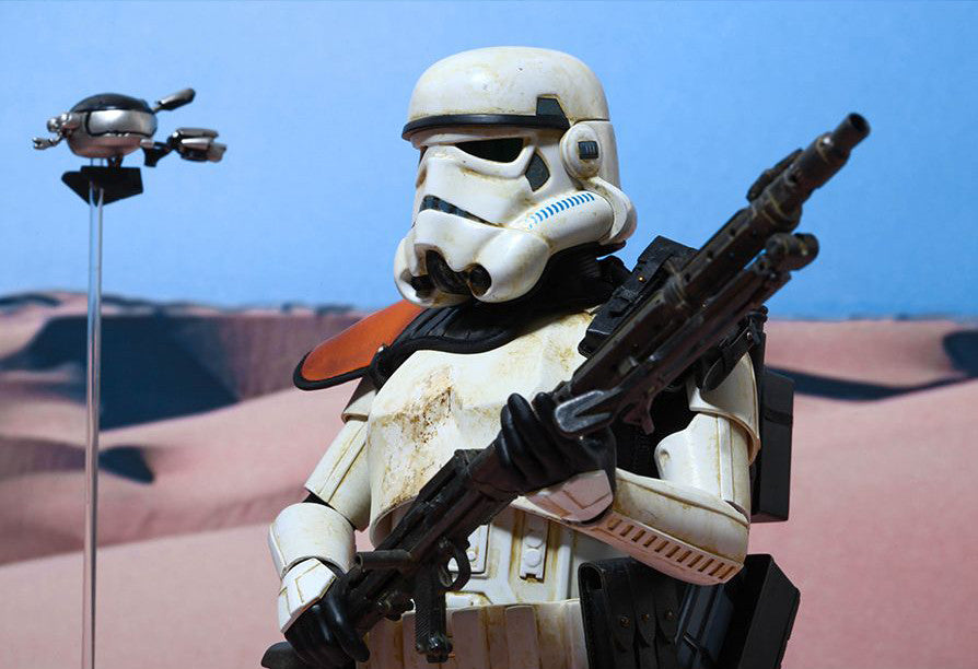 (IN STOCK) Hot Toys - MMS295 - Star Wars Episode IV A New Hope - Sandtrooper - Marvelous Toys - 10
