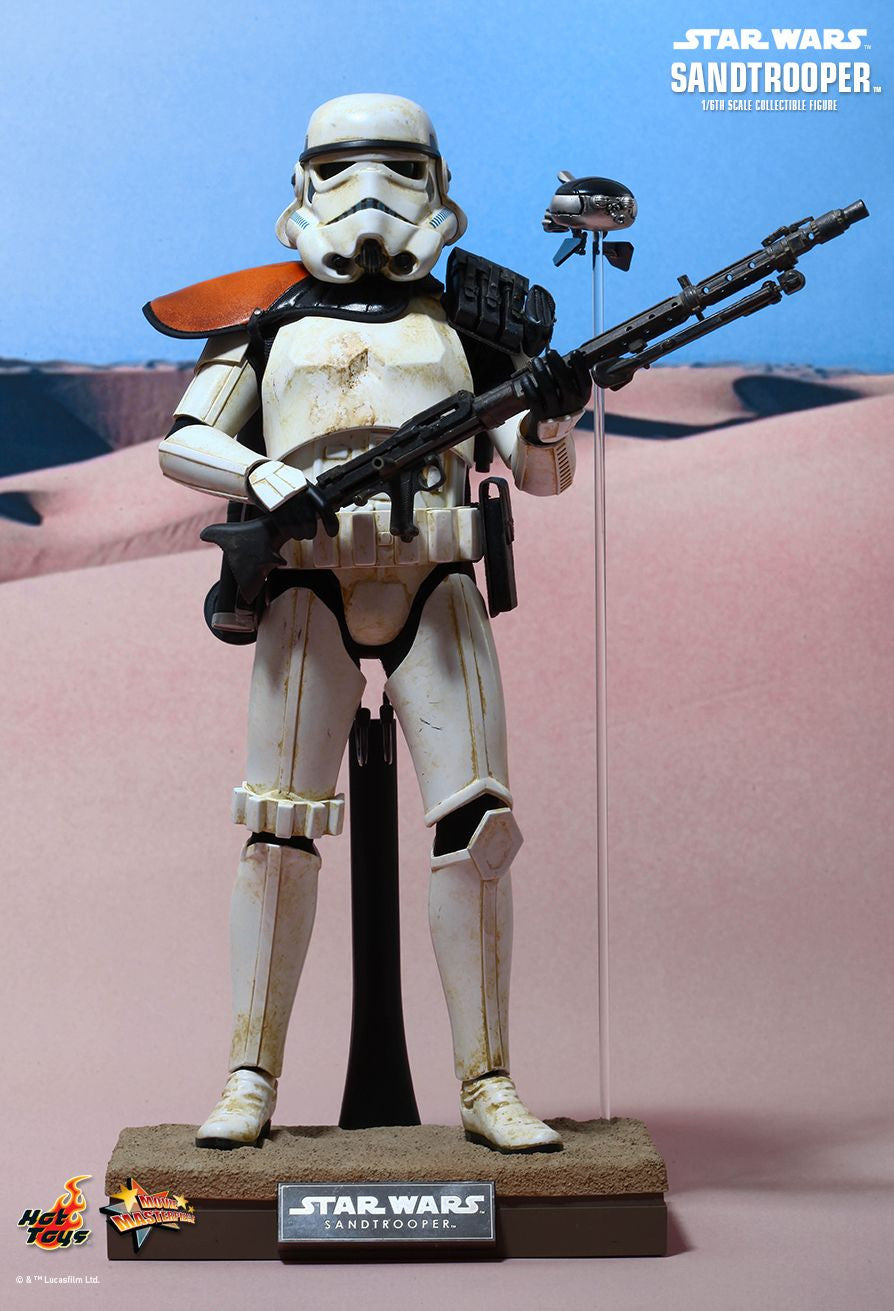 (IN STOCK) Hot Toys - MMS295 - Star Wars Episode IV A New Hope - Sandtrooper - Marvelous Toys - 12