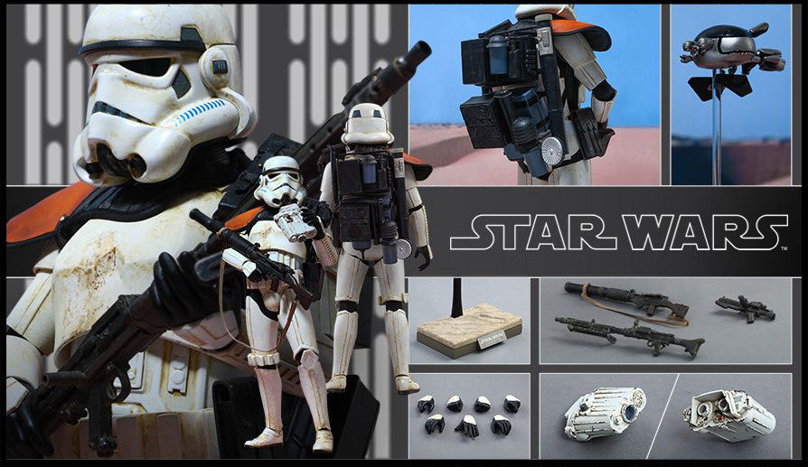 (IN STOCK) Hot Toys - MMS295 - Star Wars Episode IV A New Hope - Sandtrooper - Marvelous Toys - 13
