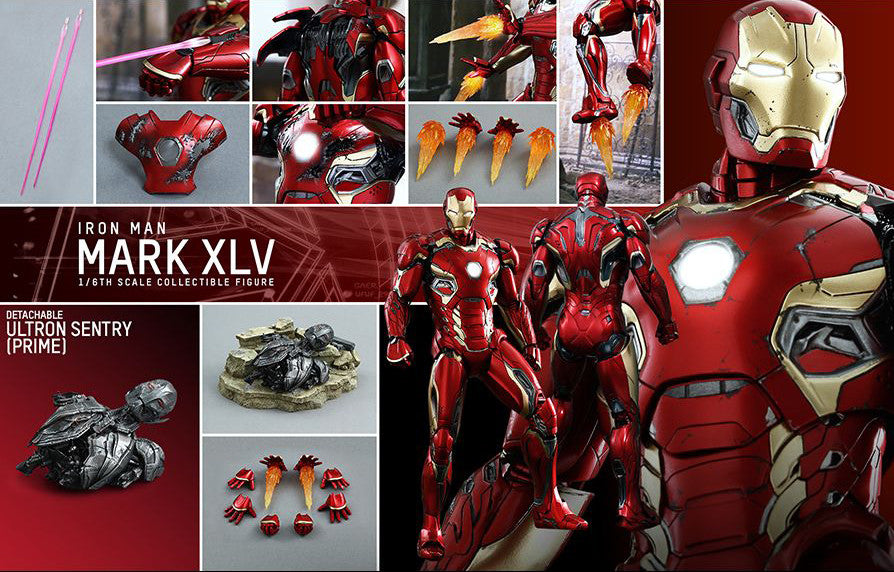 Hot Toys - MMS300D11 - The Avengers: Age of Ultron - Iron Man Mark XLV - Marvelous Toys - 16