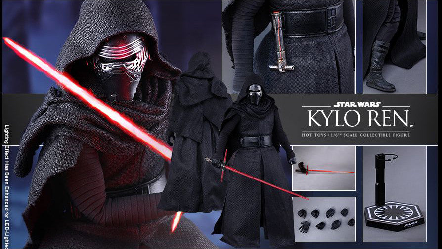 Hot Toys - MMS320 - Star Wars: The Force Awakens - Kylo Ren - Marvelous Toys - 7