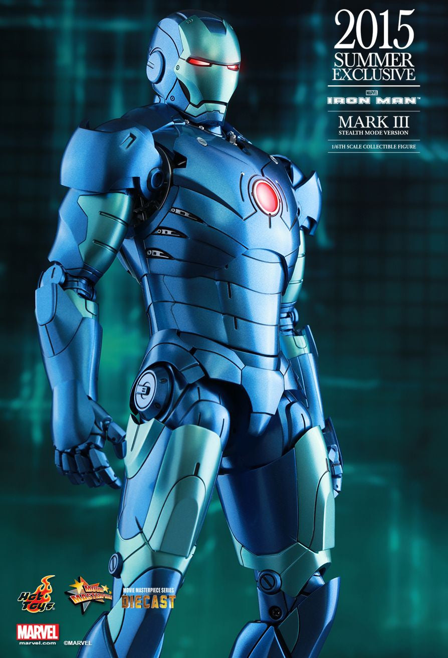 (IN STOCK) Hot Toys - Iron Man - Mark III (Stealth Mode Version) MMS314D12 - Marvelous Toys - 1