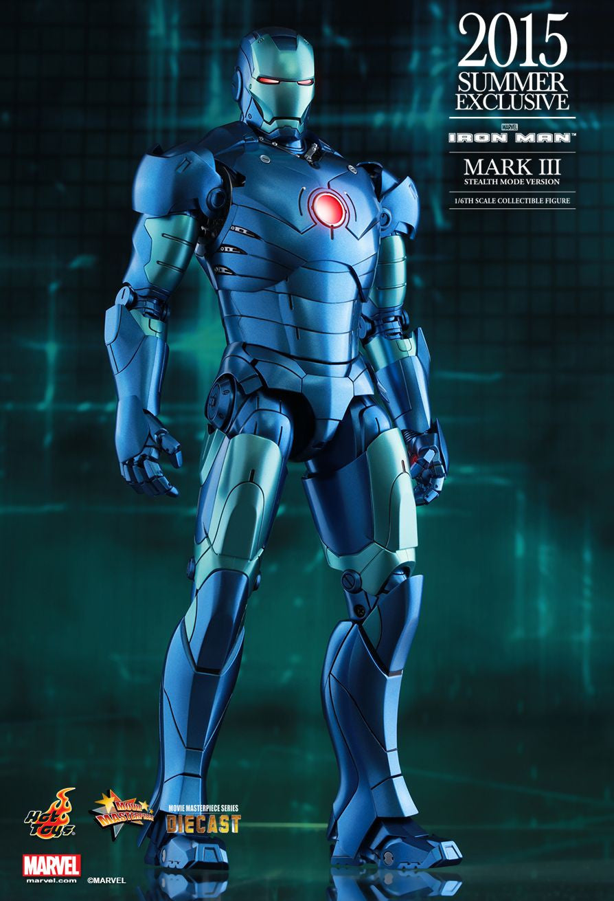 (IN STOCK) Hot Toys - Iron Man - Mark III (Stealth Mode Version) MMS314D12 - Marvelous Toys - 2