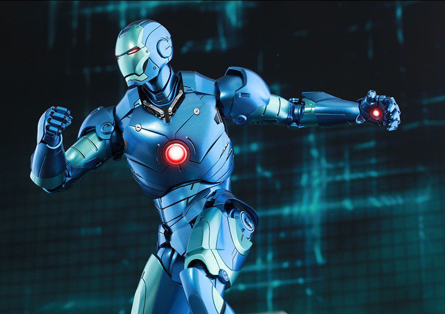 (IN STOCK) Hot Toys - Iron Man - Mark III (Stealth Mode Version) MMS314D12 - Marvelous Toys - 3