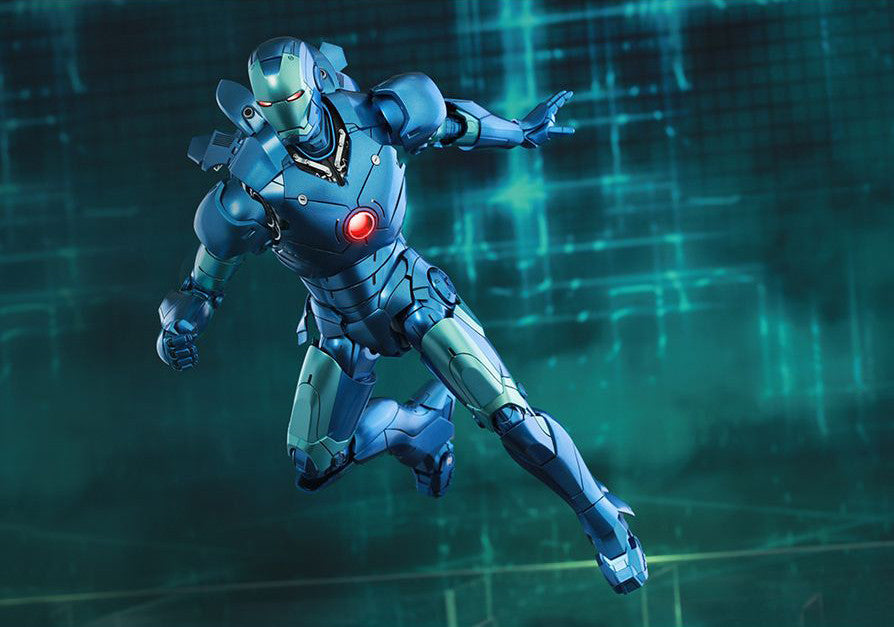 (IN STOCK) Hot Toys - Iron Man - Mark III (Stealth Mode Version) MMS314D12 - Marvelous Toys - 4