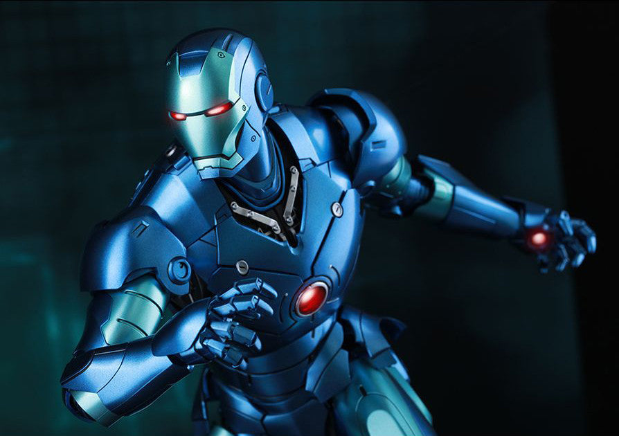 (IN STOCK) Hot Toys - Iron Man - Mark III (Stealth Mode Version) MMS314D12 - Marvelous Toys - 7