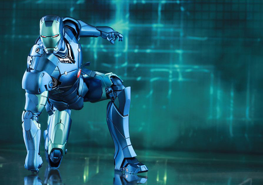 (IN STOCK) Hot Toys - Iron Man - Mark III (Stealth Mode Version) MMS314D12 - Marvelous Toys - 9