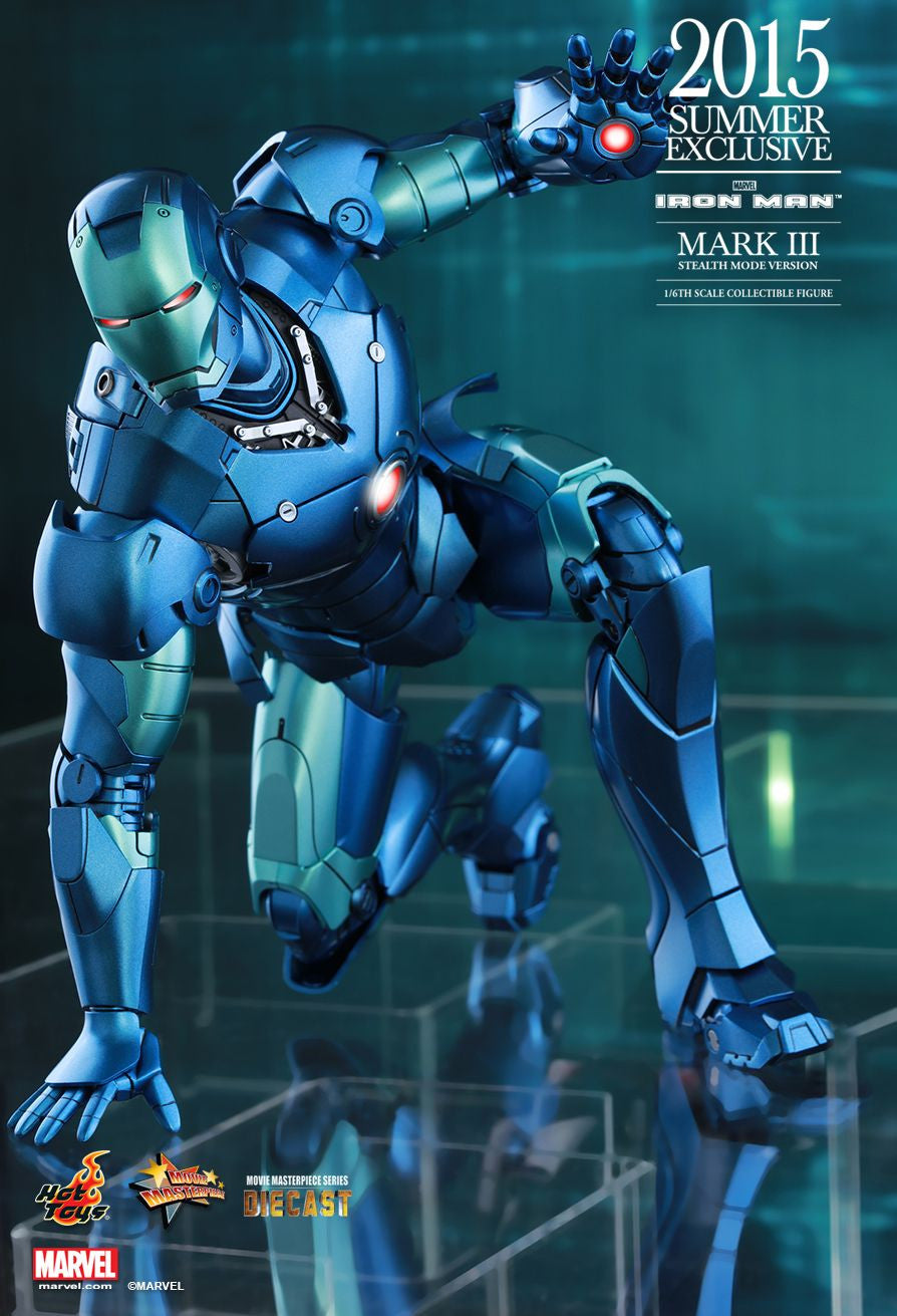 (IN STOCK) Hot Toys - Iron Man - Mark III (Stealth Mode Version) MMS314D12 - Marvelous Toys - 10