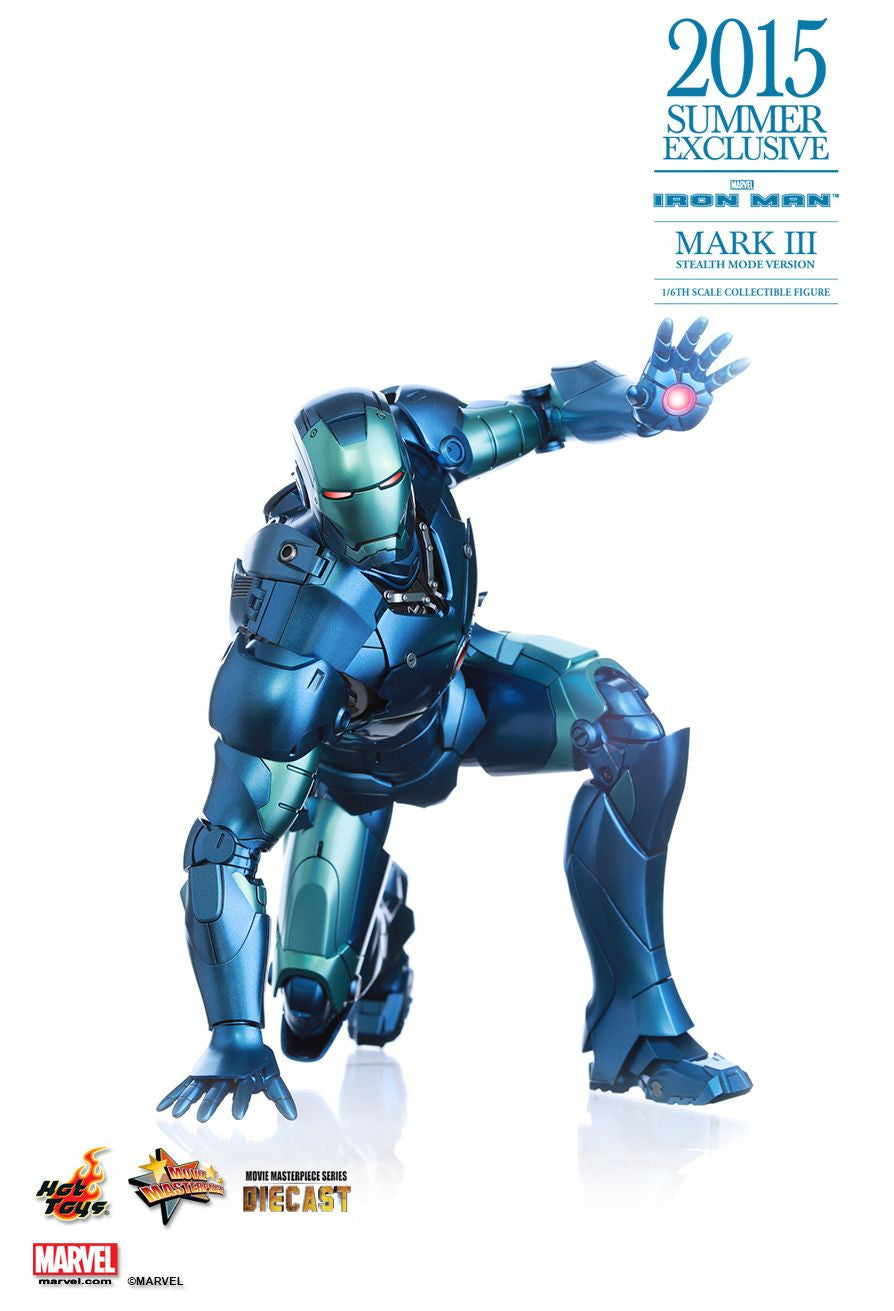 (IN STOCK) Hot Toys - Iron Man - Mark III (Stealth Mode Version) MMS314D12 - Marvelous Toys - 11