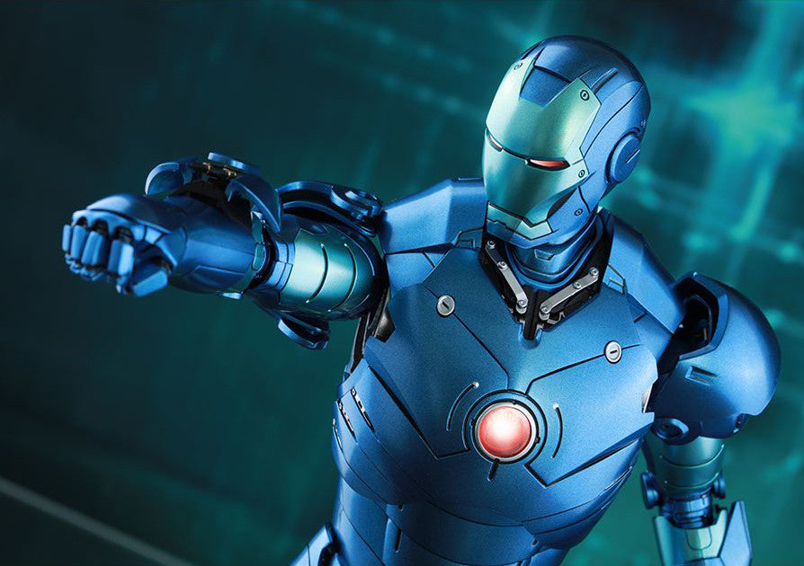 (IN STOCK) Hot Toys - Iron Man - Mark III (Stealth Mode Version) MMS314D12 - Marvelous Toys - 16