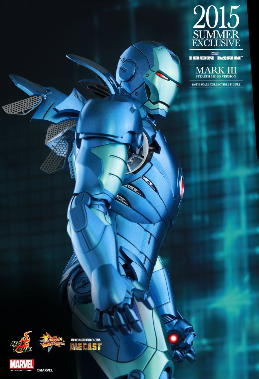 (IN STOCK) Hot Toys - Iron Man - Mark III (Stealth Mode Version) MMS314D12 - Marvelous Toys - 14