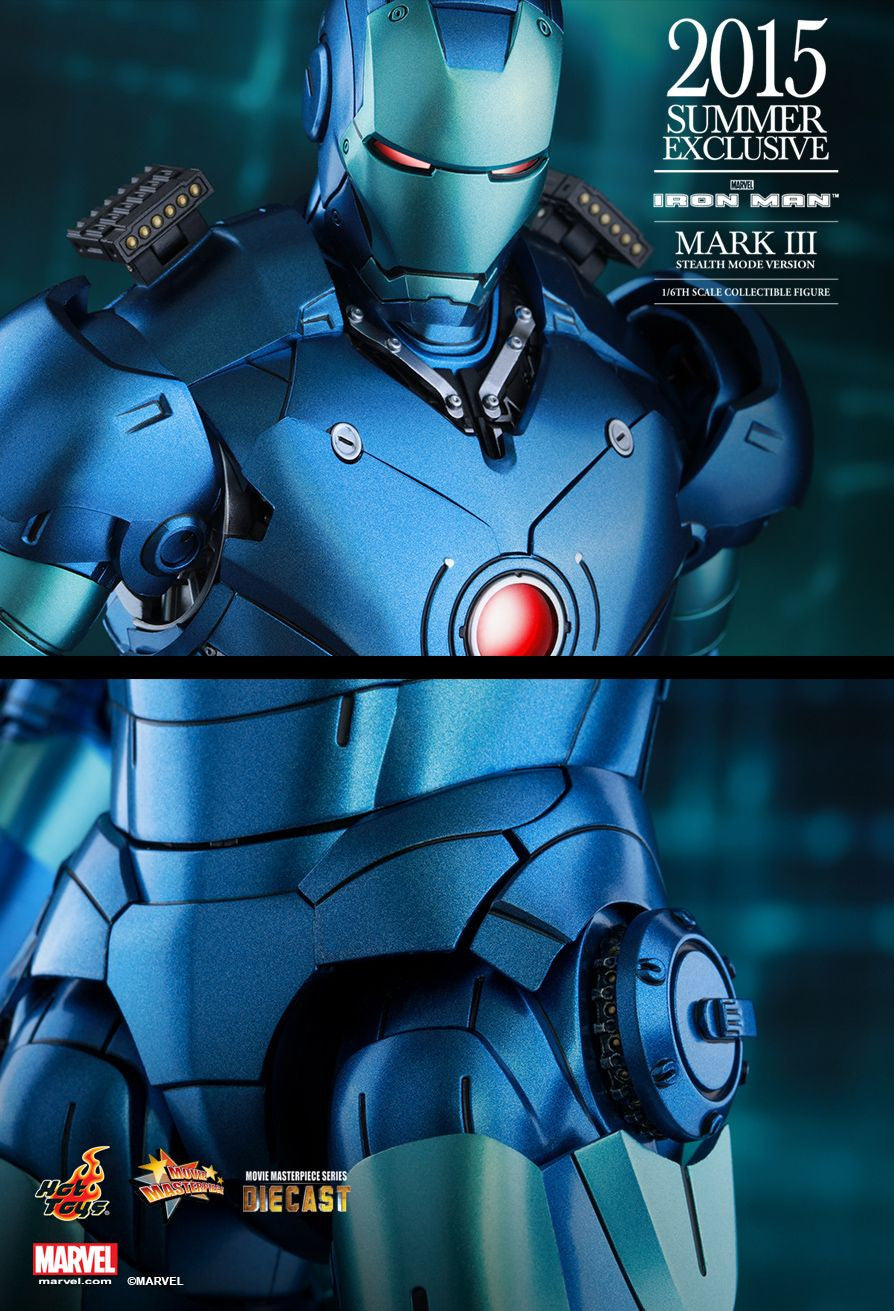 (IN STOCK) Hot Toys - Iron Man - Mark III (Stealth Mode Version) MMS314D12 - Marvelous Toys - 17