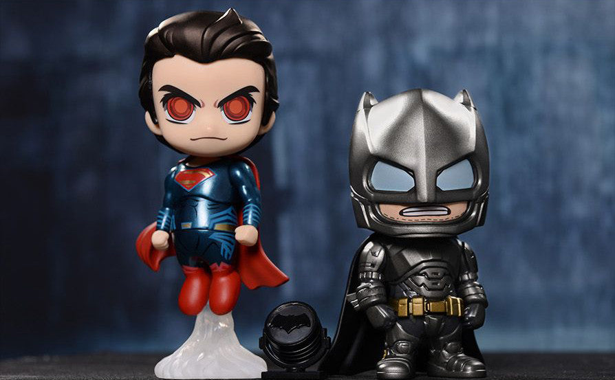 Armored Batman and Superman Cosbaby Collectible Set COSB197-198 - Batman v Superman: Dawn Of Justice - Hot Toys - Marvelous Toys - 8