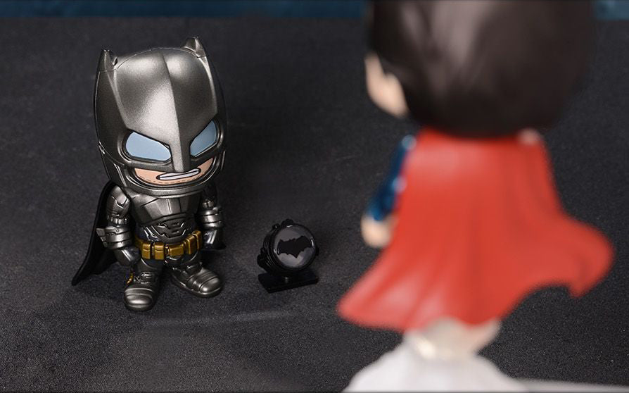 Armored Batman and Superman Cosbaby Collectible Set COSB197-198 - Batman v Superman: Dawn Of Justice - Hot Toys - Marvelous Toys - 9