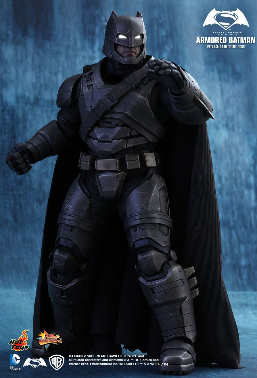 Hot Toys - MMS349 - Batman v Superman: Dawn Of Justice - Armored Batman - Marvelous Toys - 1