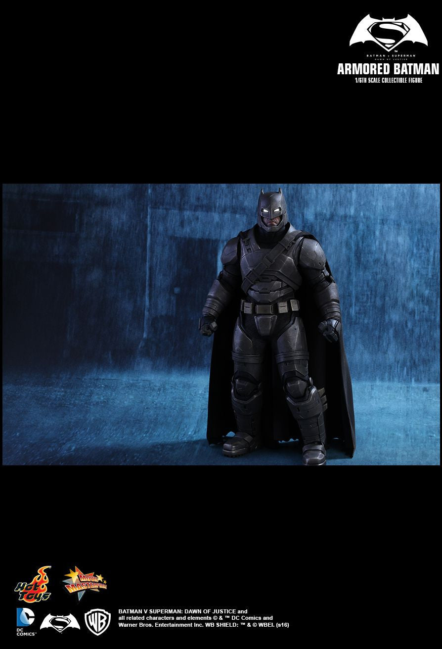 Hot Toys - MMS349 - Batman v Superman: Dawn Of Justice - Armored Batman - Marvelous Toys - 7