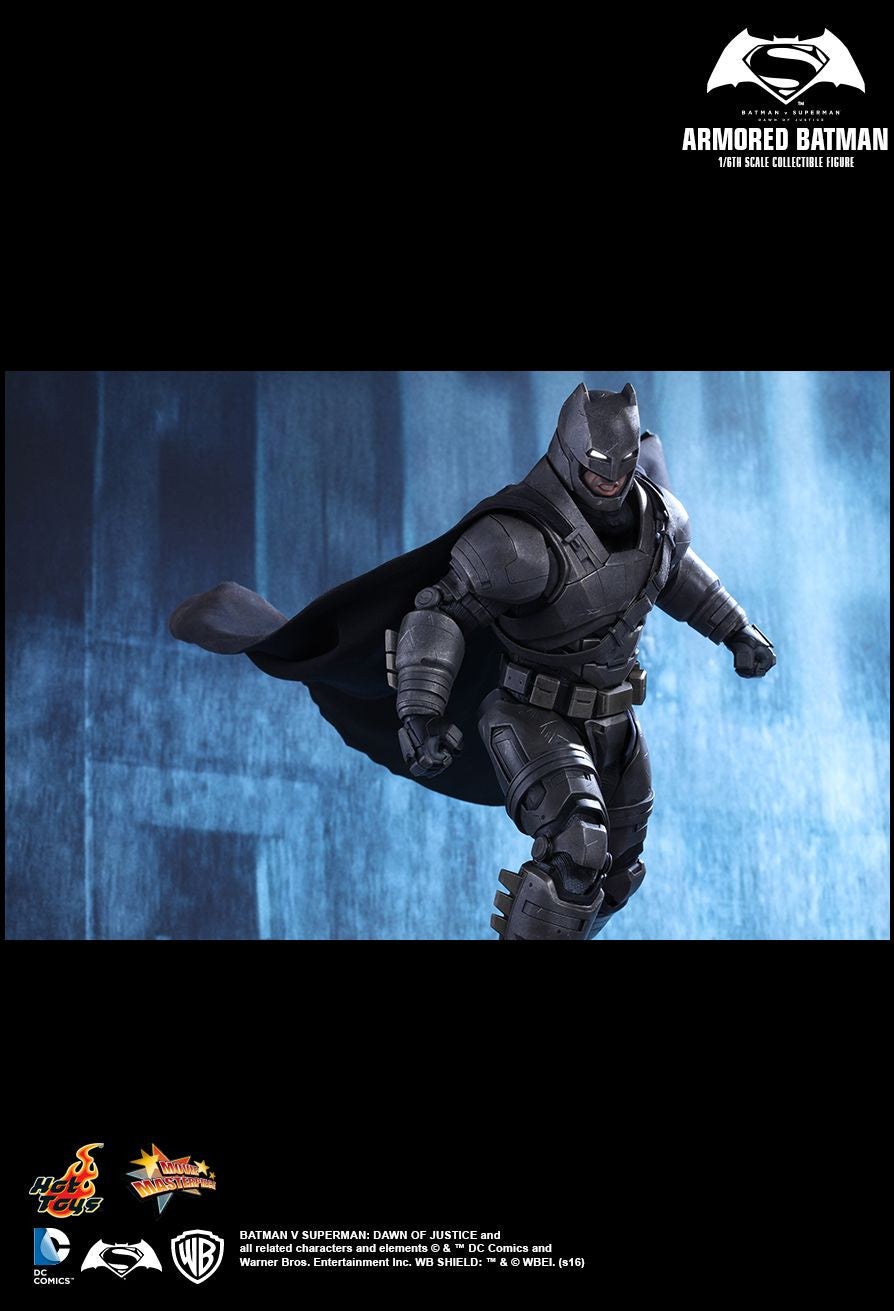 Hot Toys - MMS349 - Batman v Superman: Dawn Of Justice - Armored Batman - Marvelous Toys - 10